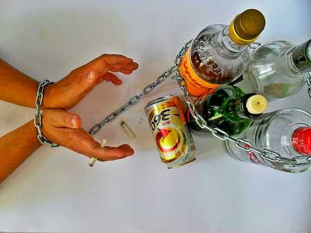 alcoholismo en los alcohólicos