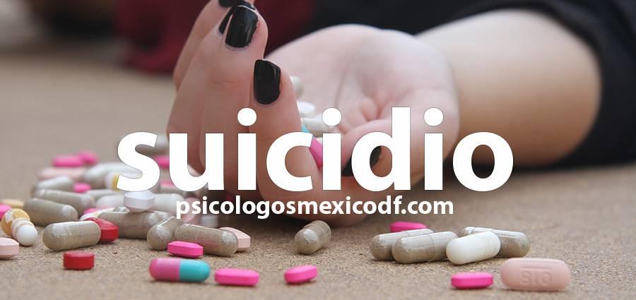 el suicidio y la ideación suicida